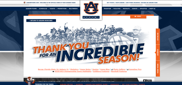 AuburnTigers.com   Official Athletics Site of the Auburn Tigers
