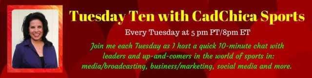 Tuesday Ten blog page header