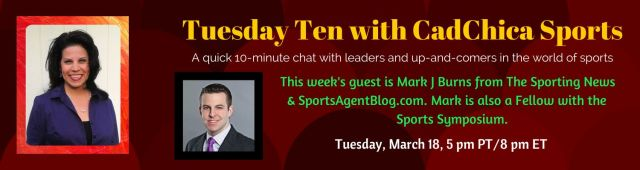 Tuesday Ten 3-18